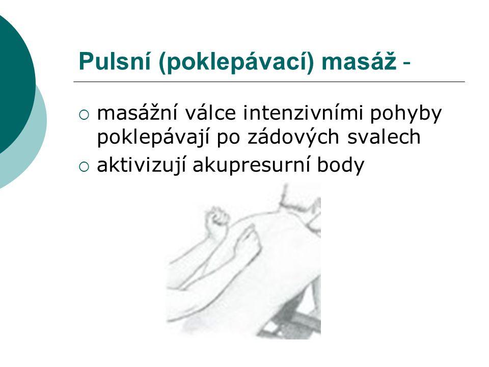Pulsní (poklepávací) masáž -