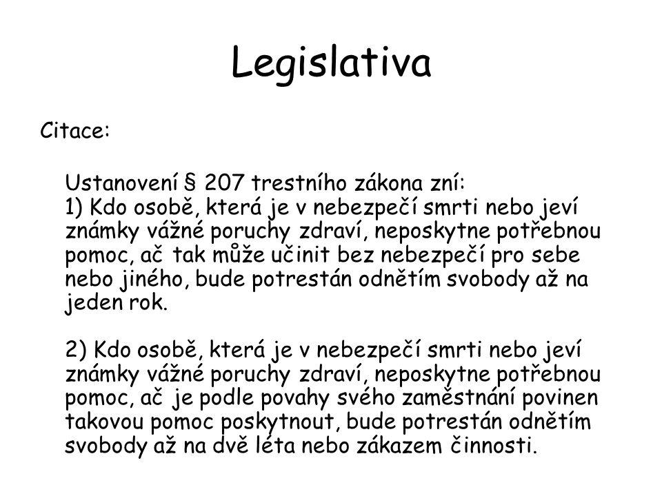 Legislativa Citace: