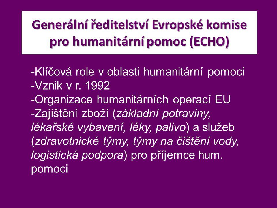 Generální ředitelství Evropské komise pro humanitární pomoc (ECHO)