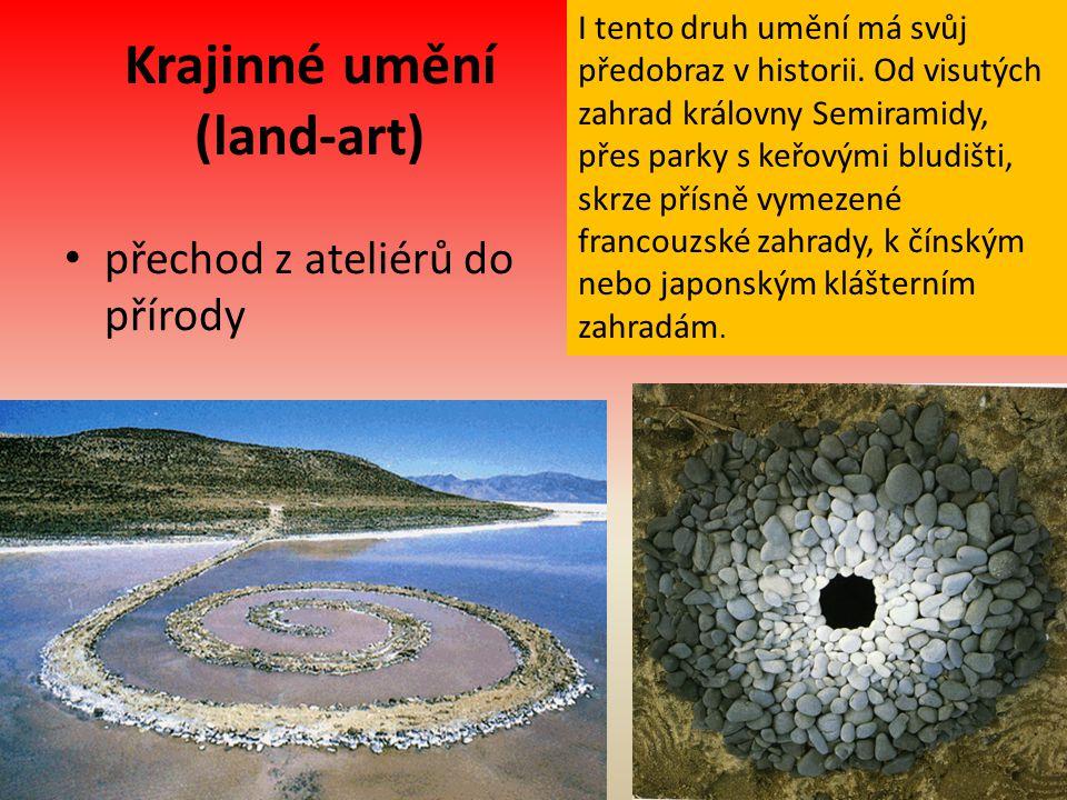 Krajinné umění (land-art)