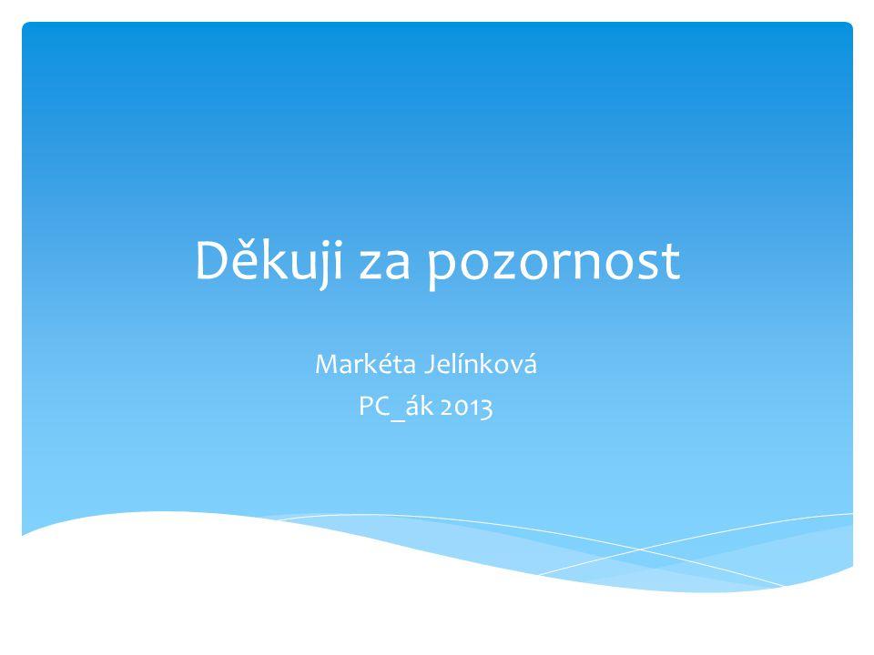 Markéta Jelínková PC_ák 2013