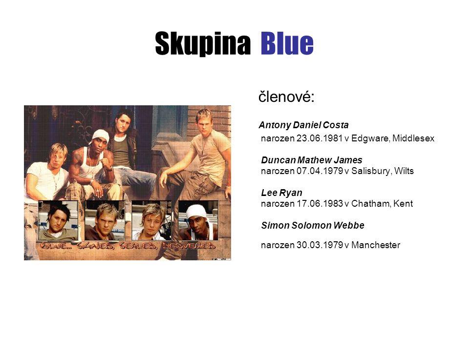 Skupina Blue členové: