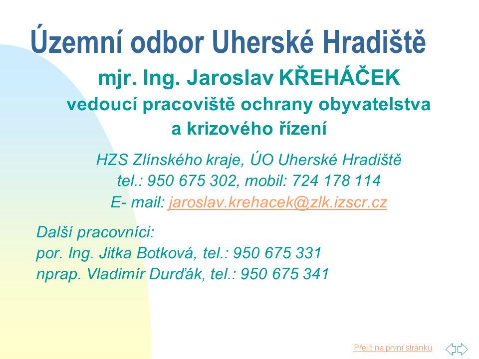 Územní odbor Uherské Hradiště