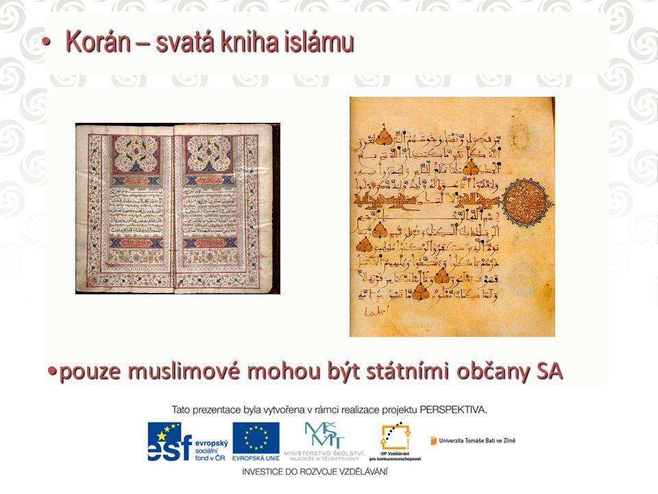 Korán – svatá kniha islámu