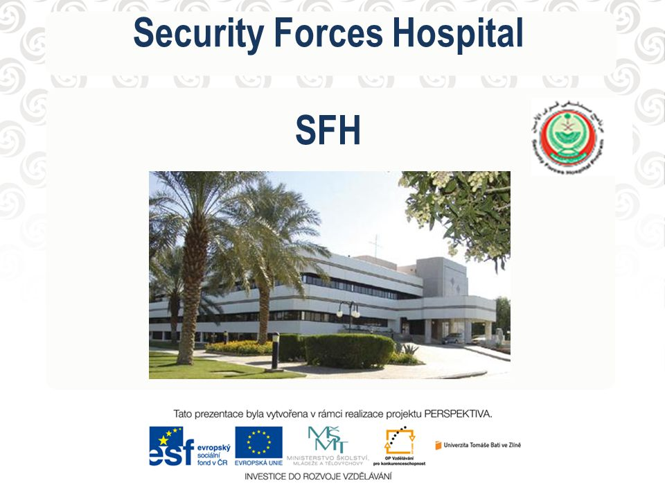 Security Forces Hospital SFH