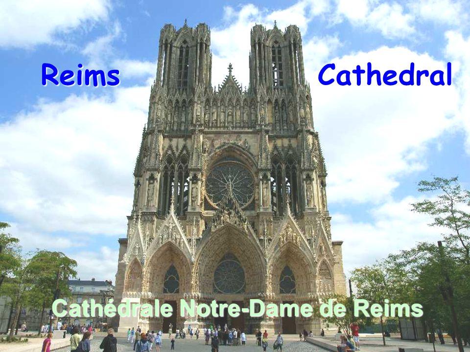 Reims Cathedral Cathédrale Notre-Dame de Reims
