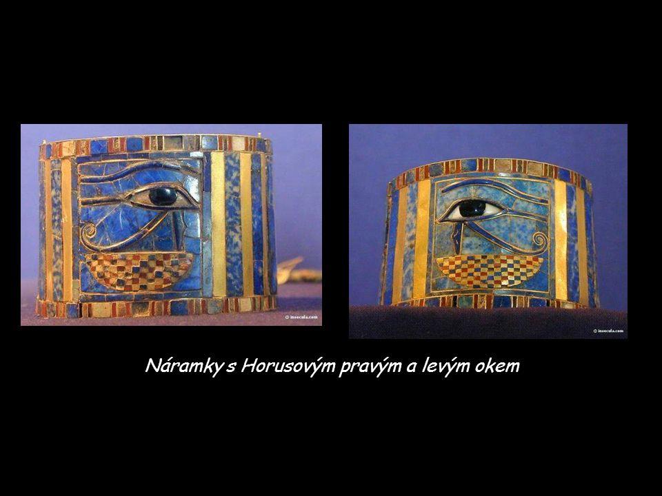Náramky s Horusovým pravým a levým okem