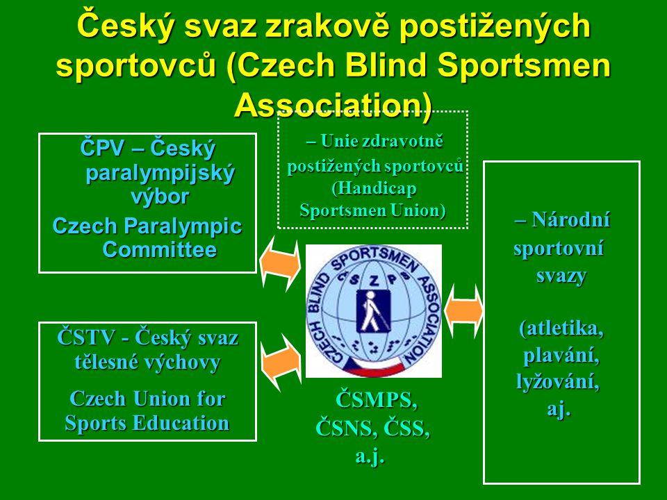 Český svaz zrakově postižených sportovců (Czech Blind Sportsmen Association)