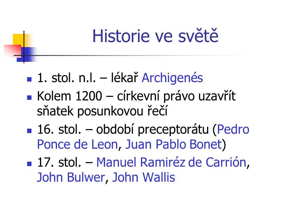 Historie ve světě 1. stol. n.l. – lékař Archigenés