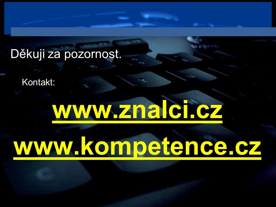 www.znalci.cz www.kompetence.cz