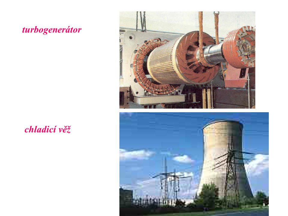 turbogenerátor chladicí věž