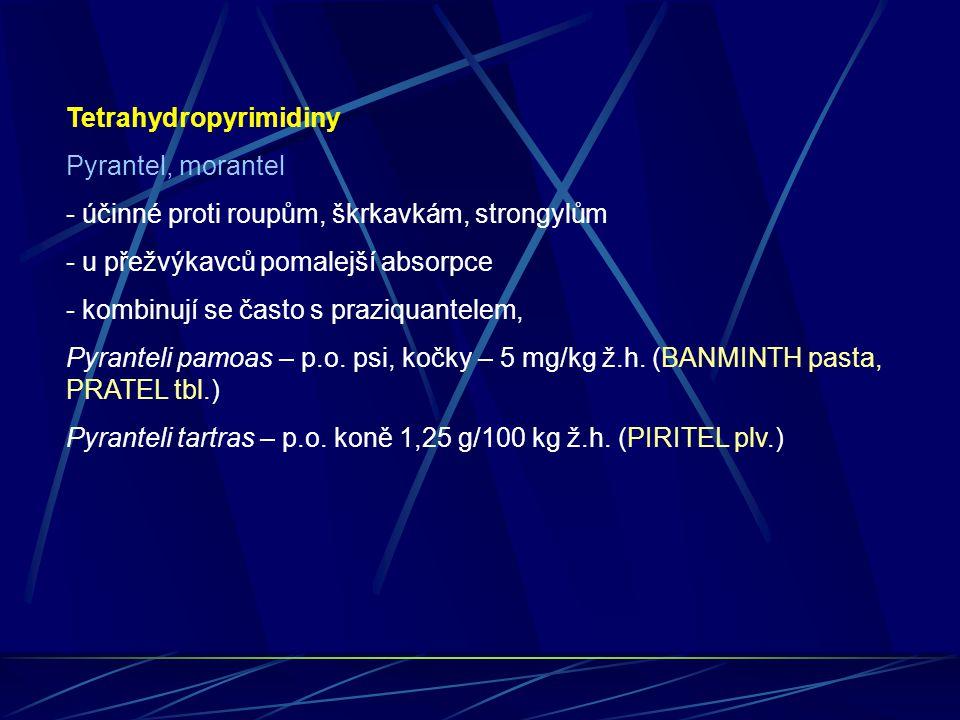 Tetrahydropyrimidiny