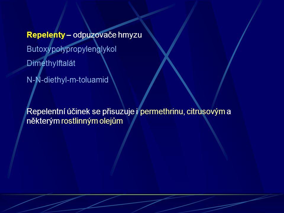 Repelenty – odpuzovače hmyzu