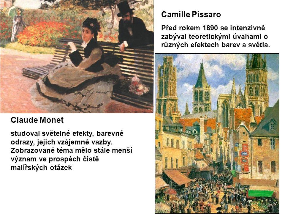 Camille Pissaro Claude Monet
