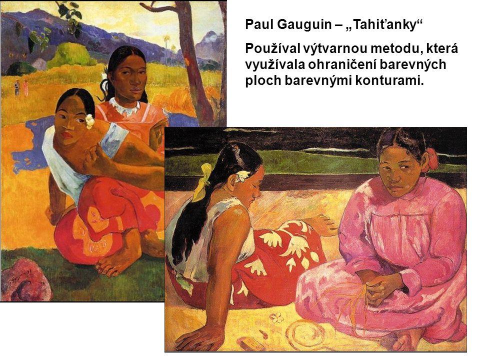 """Paul Gauguin – """"Tahiťanky"""