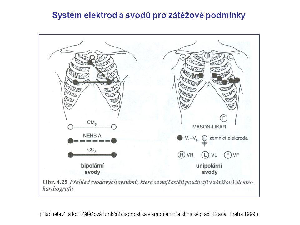 Systém elektrod a svodů pro zátěžové podmínky
