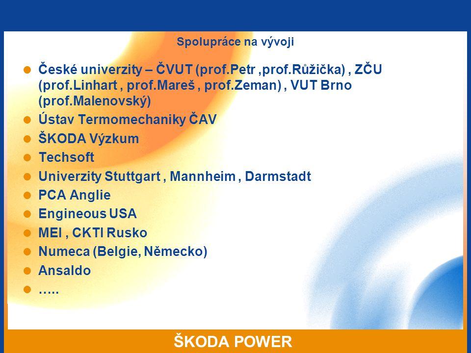 Ústav Termomechaniky ČAV ŠKODA Výzkum Techsoft