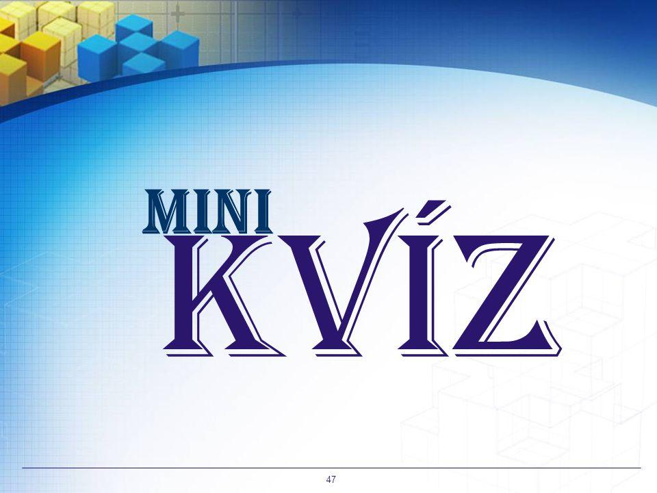 mini Kvíz