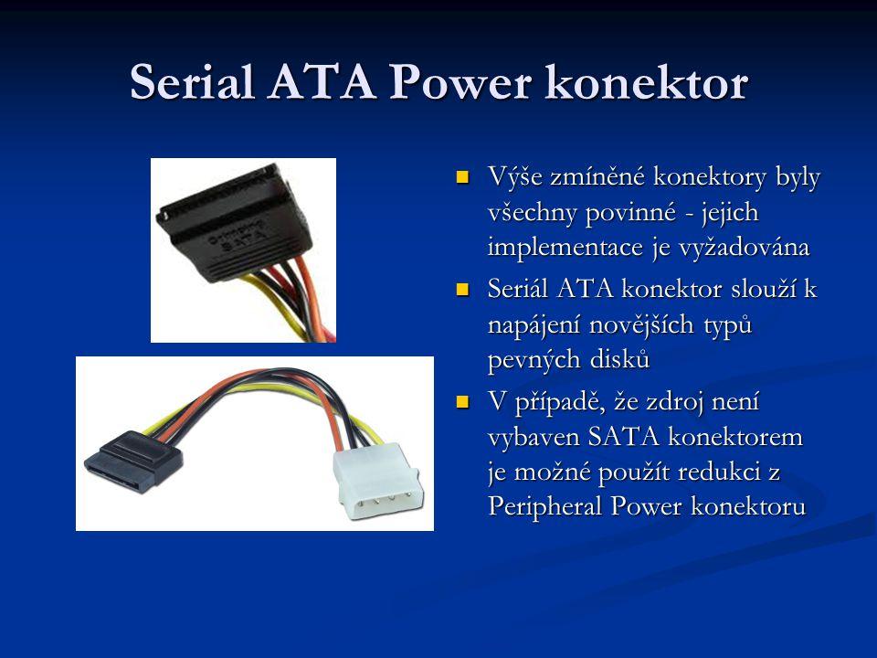 Serial ATA Power konektor