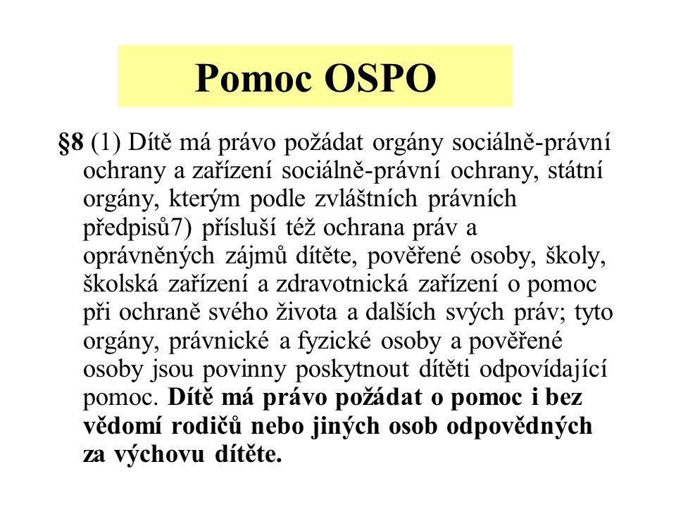 Pomoc OSPO