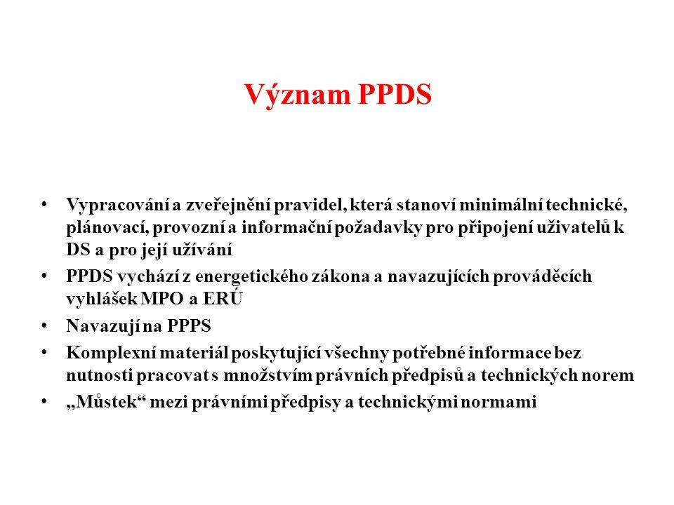 Význam PPDS