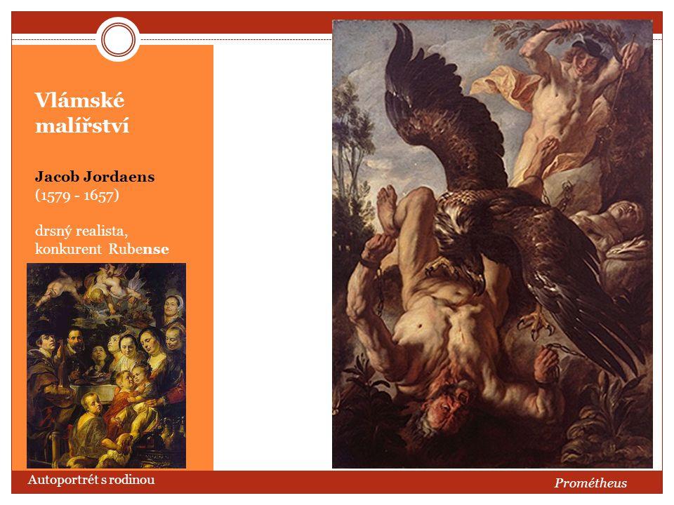 Vlámské malířství Jacob Jordaens (1579 - 1657)