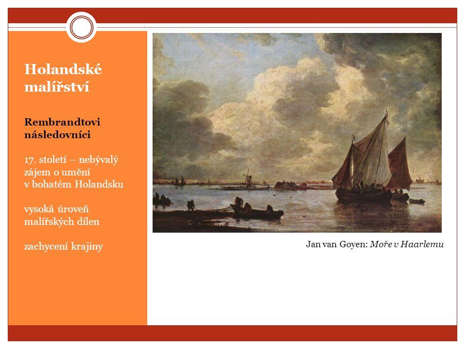Holandské malířství Rembrandtovi následovníci