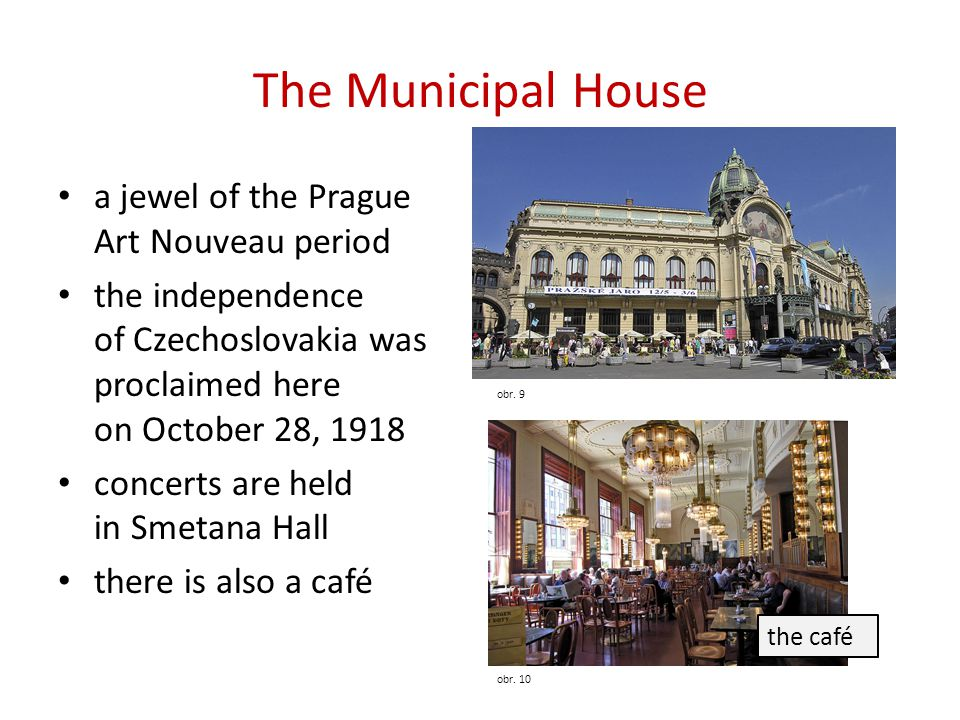 The Municipal House a jewel of the Prague Art Nouveau period
