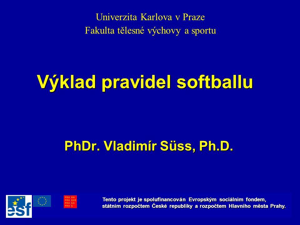 Výklad pravidel softballu