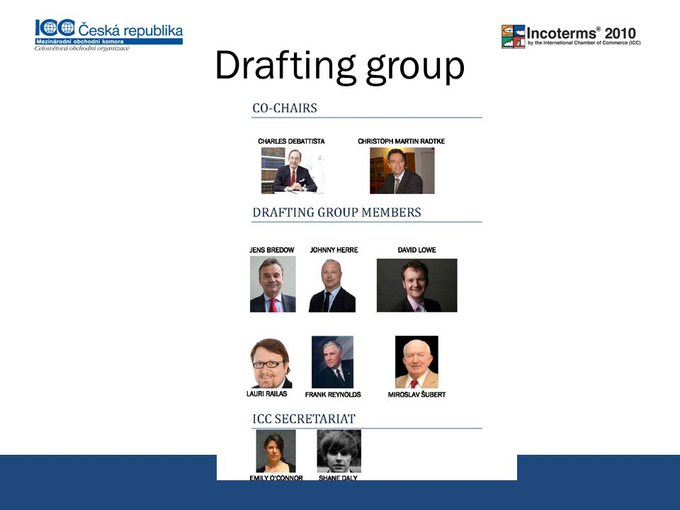 Drafting group