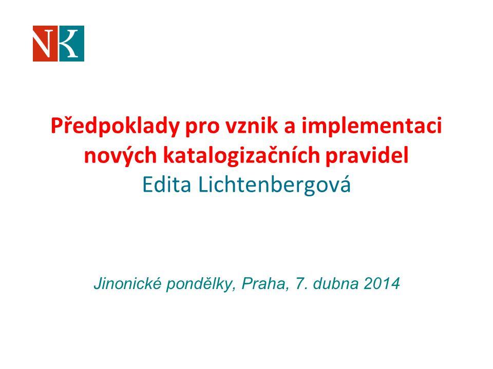 Jinonické pondělky, Praha, 7. dubna 2014