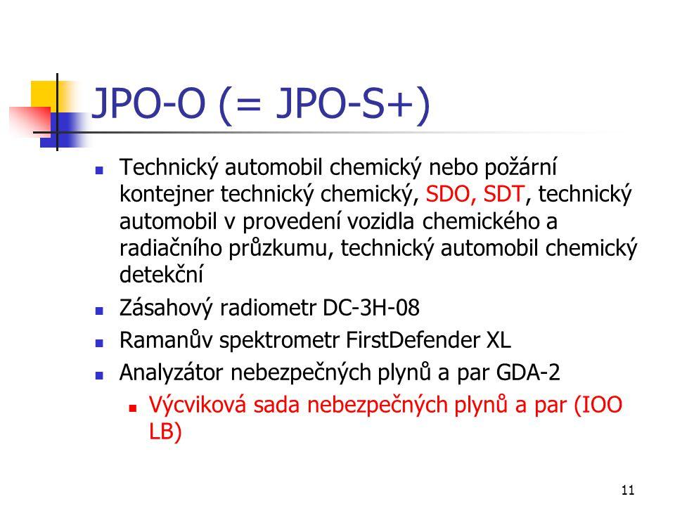 JPO-O (= JPO-S+)