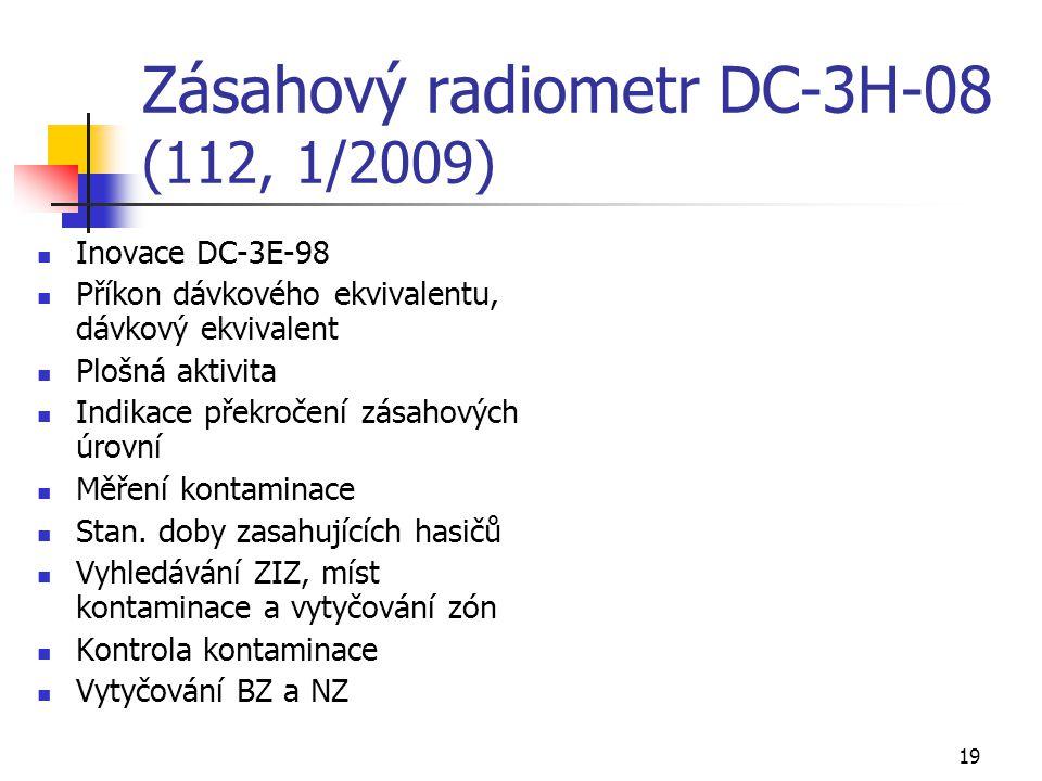 Zásahový radiometr DC-3H-08 (112, 1/2009)