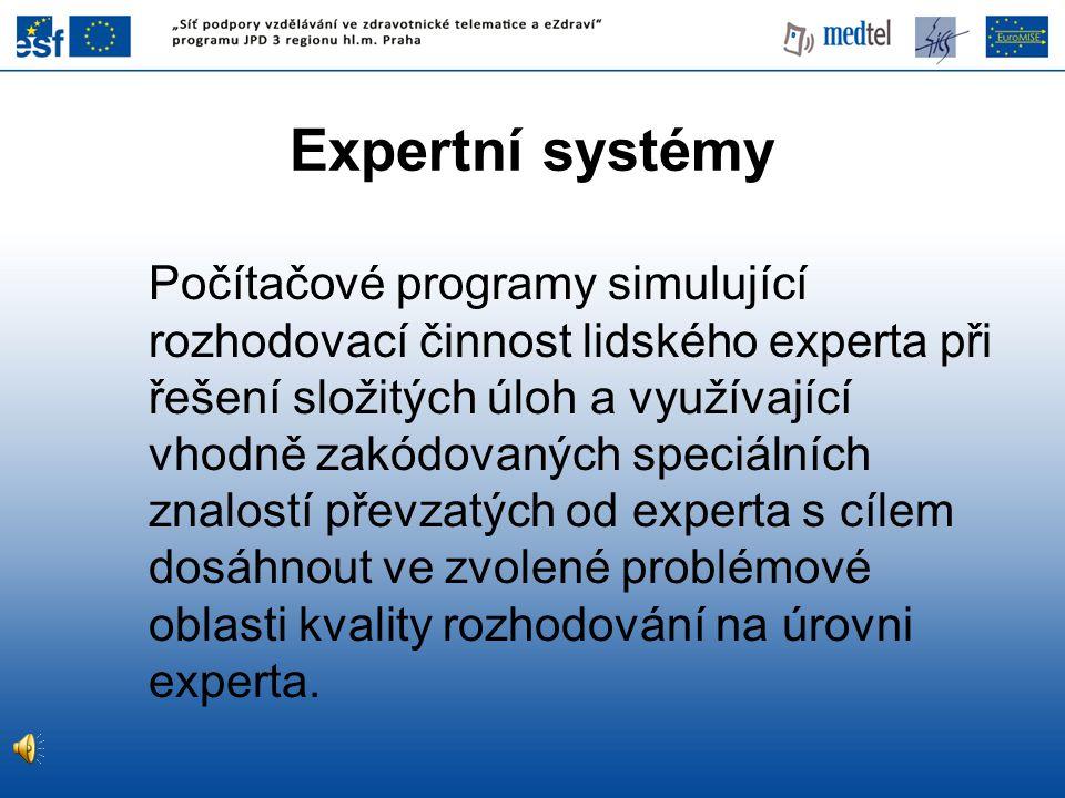 Expertní systémy