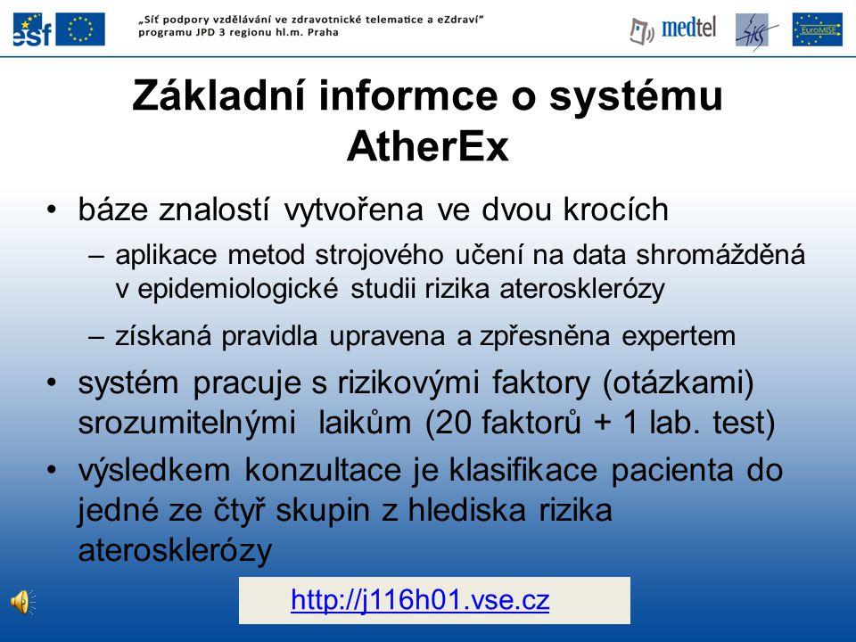 Základní informce o systému AtherEx