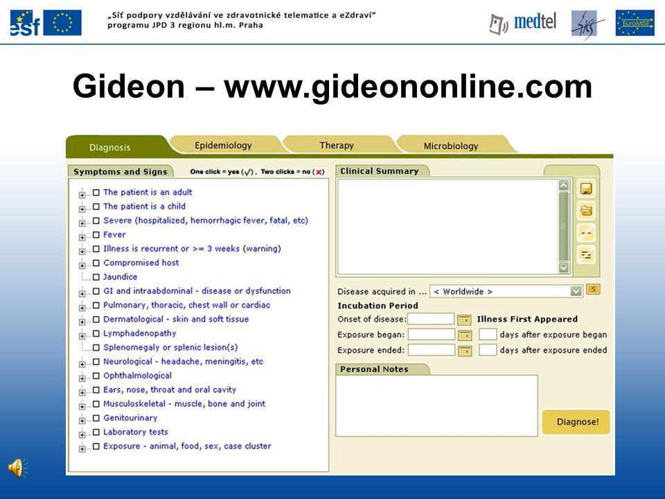 Gideon – www.gideononline.com