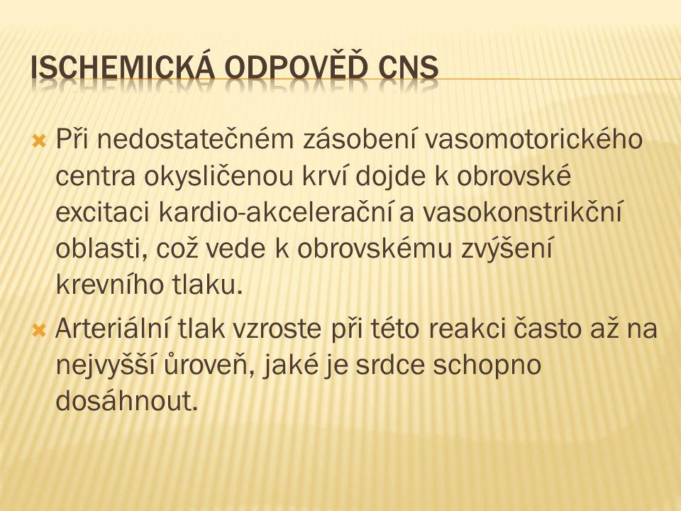 Ischemická odpověď CNS