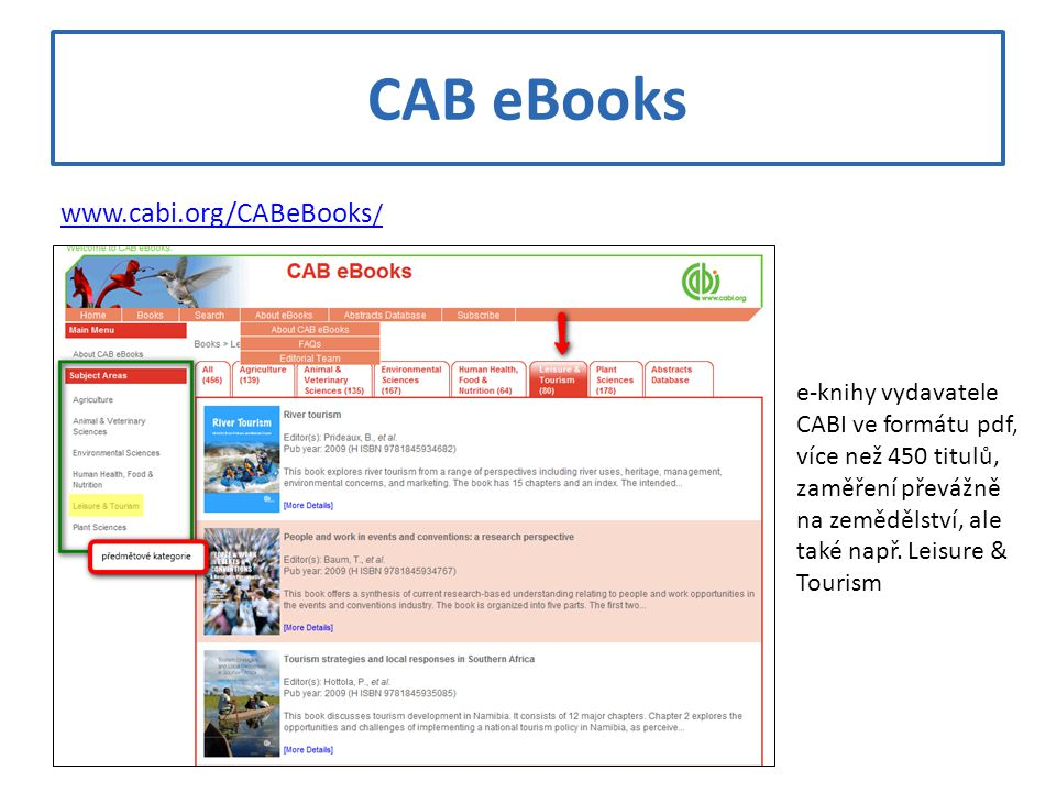 CAB eBooks
