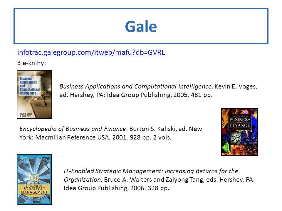 Gale infotrac.galegroup.com/itweb/mafu db=GVRL 3 e-knihy: