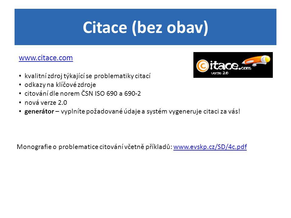 Citace (bez obav) www.citace.com