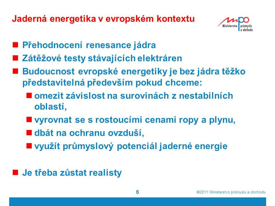 Jaderná energetika v evropském kontextu