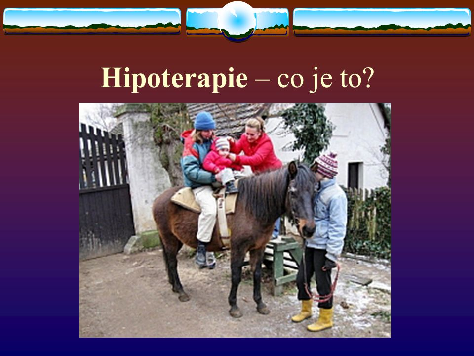 Hipoterapie – co je to
