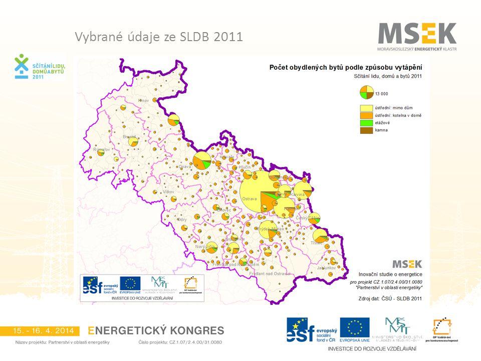 Vybrané údaje ze SLDB 2011
