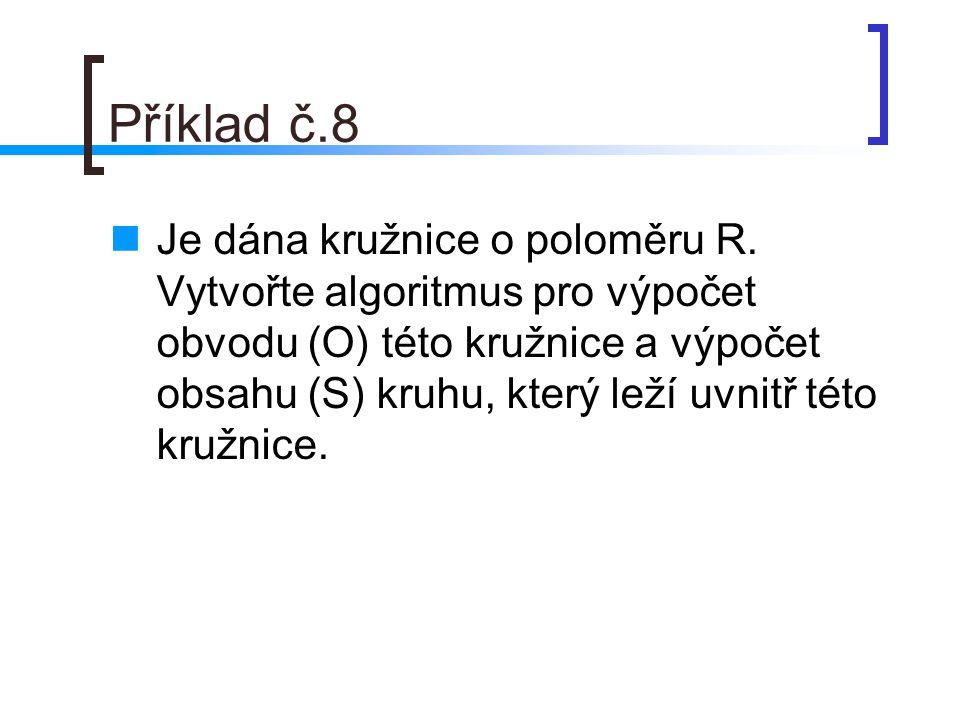 Příklad č.8