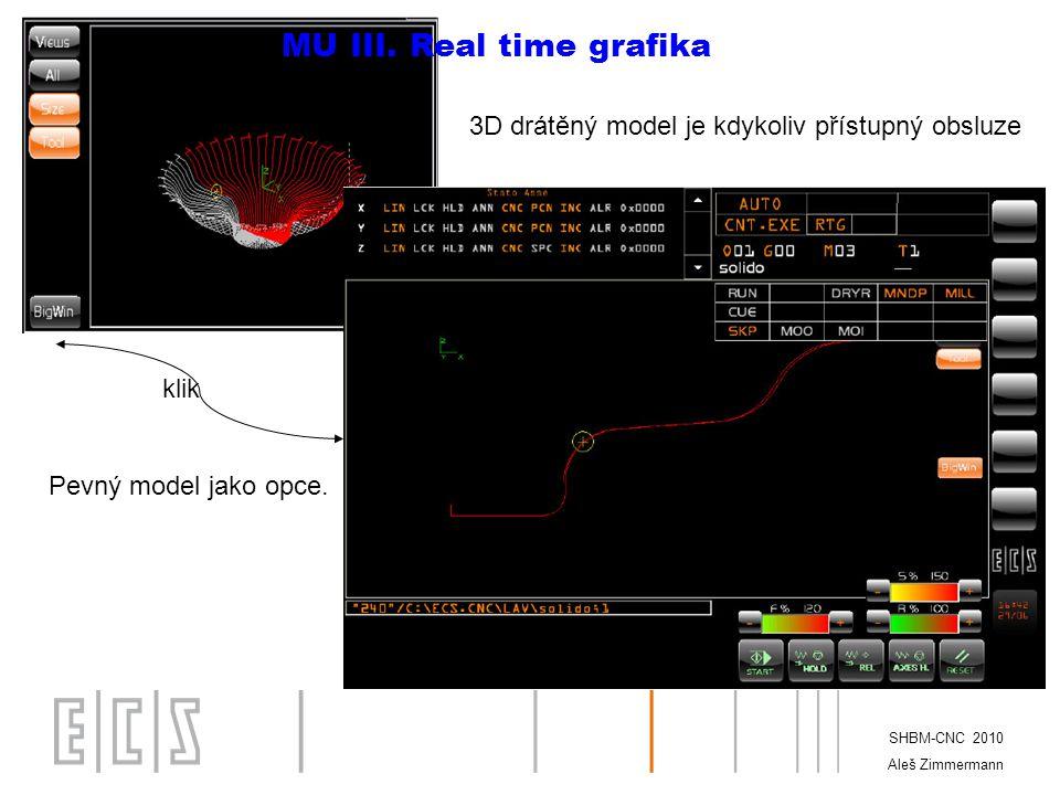 MU III. Real time grafika