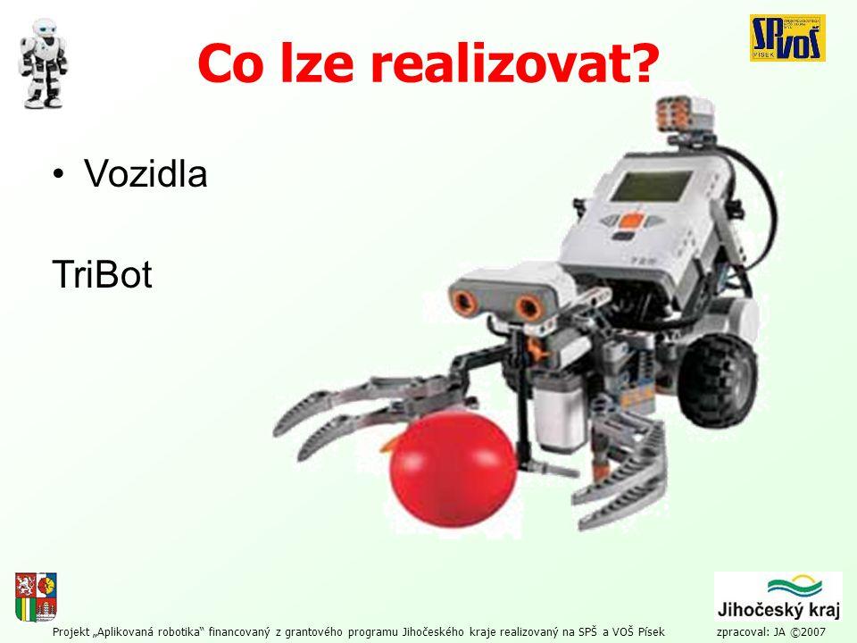 Co lze realizovat Vozidla TriBot