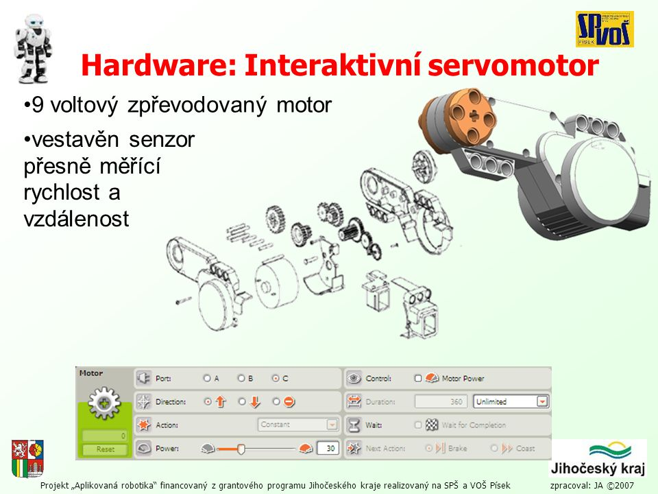 Hardware: Interaktivní servomotor