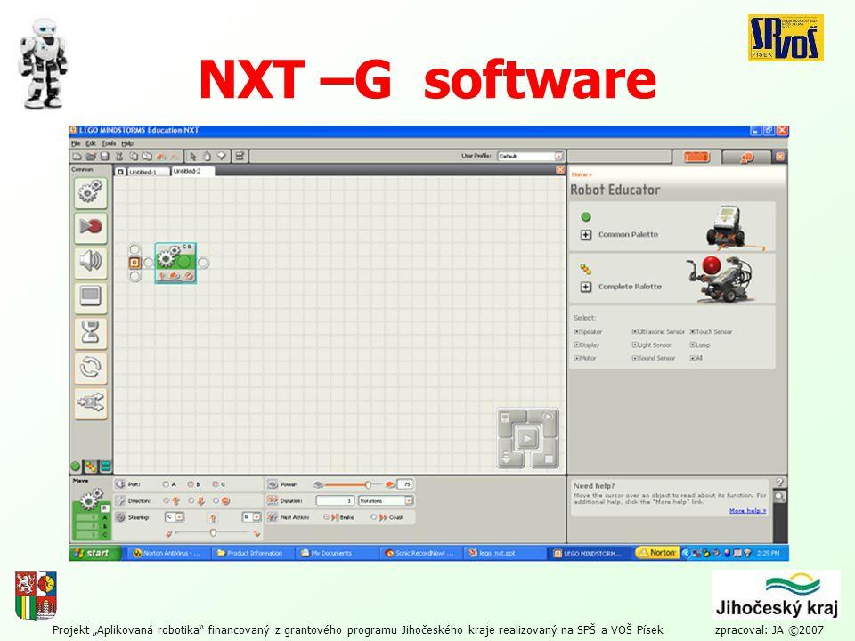 NXT –G software