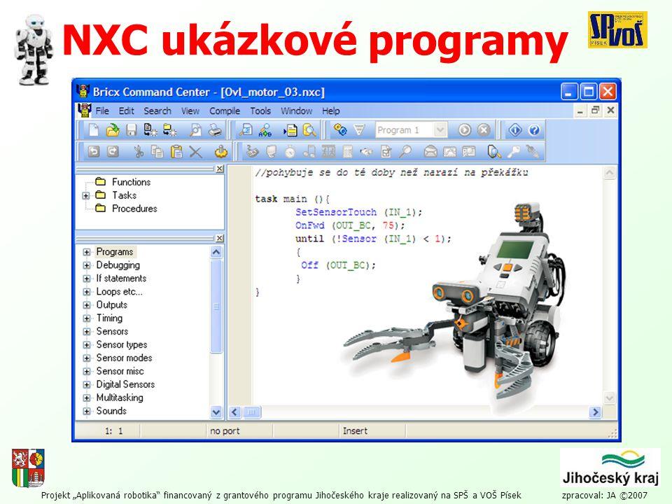 NXC ukázkové programy