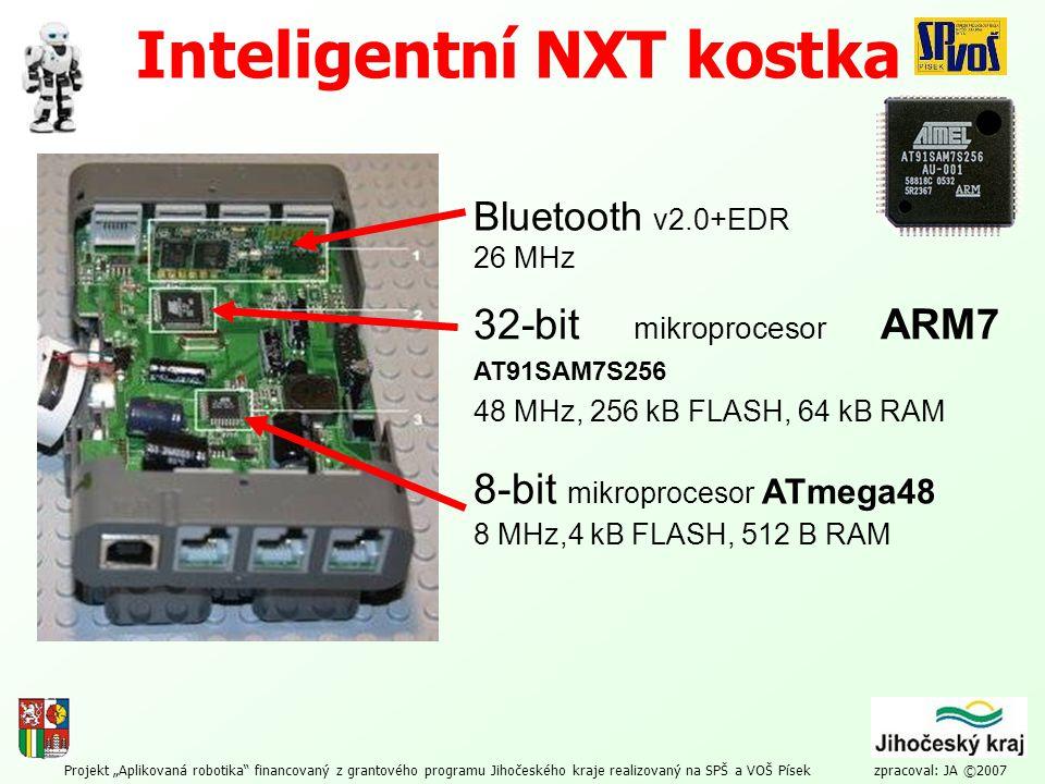 Inteligentní NXT kostka